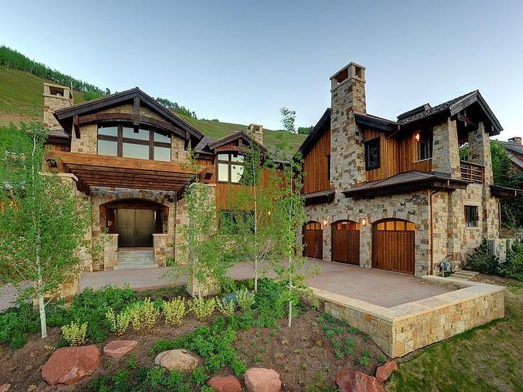 Homes aspen co design pinterest for Aspen style home designs