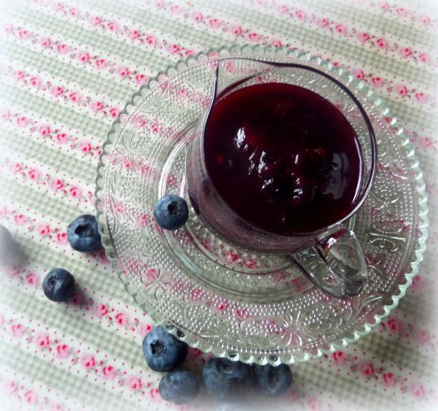 Spicy Blueberry Sauce from The English Kitchen