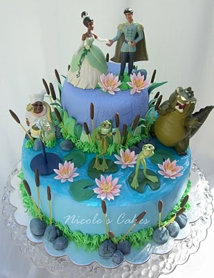 Princess & the Frog Cake from Confections, Cakes & Creations