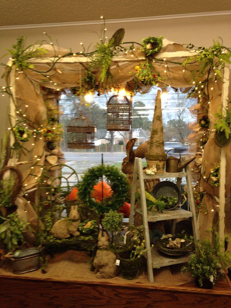 Easter Display Window General Retail Displays Pinterest