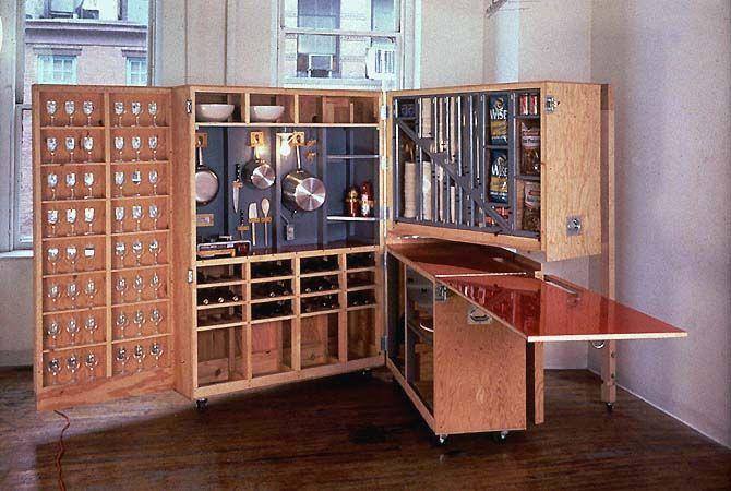 Kitchen Cabinet  Storage solutions  Pinterest