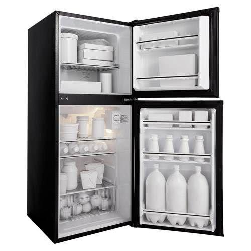 white compact fridge amp top freezer small free standing