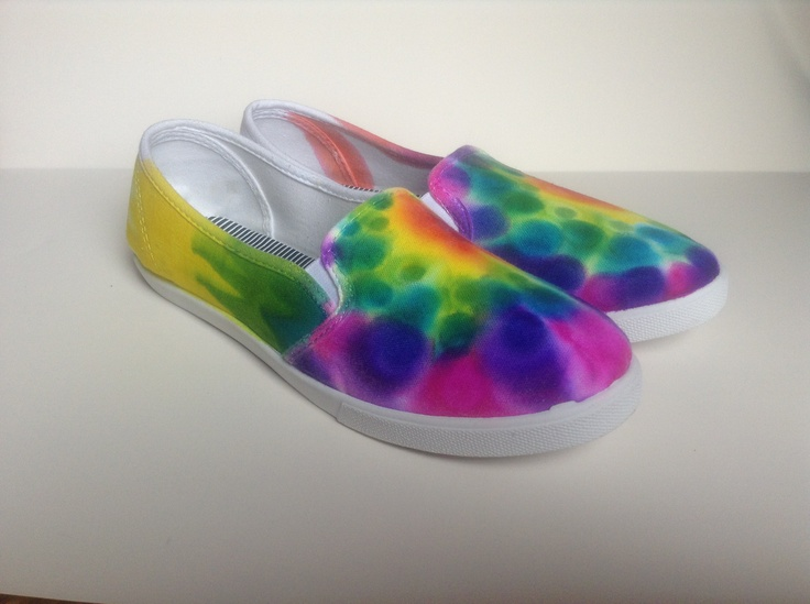sharpie tie dye canvas shoes i will do this