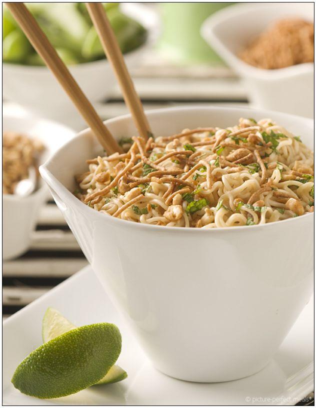 peanut butter ramen noodles | Top Ramen | Pinterest