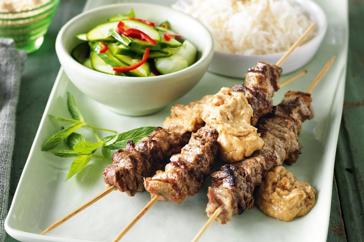 ... soy sauce and sugar, then whip up this last minute dinner of satay