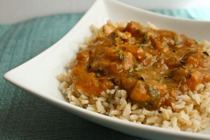 Pumpkin chicken stew | Clean Soup & Stews | Pinterest