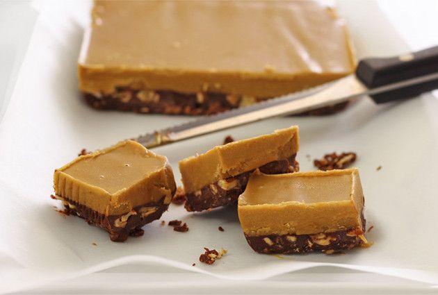 No-Cook Chocolate & Nut Butter FudgePaleo Newbie | Paleo Newbie