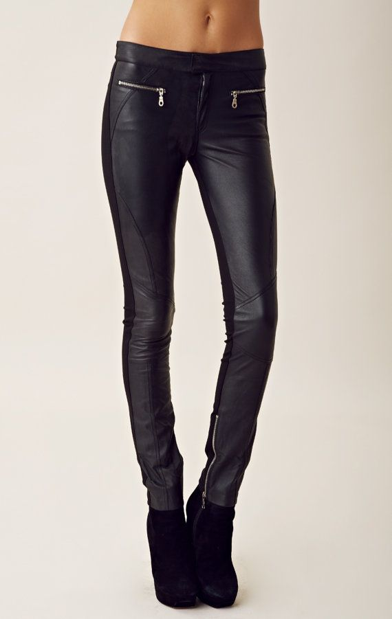 Fantastic Women Fashion Leather Pants Pictures To Pin On Pinterest