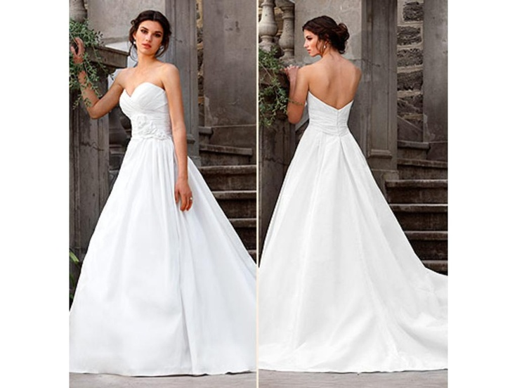 Pin alvina valenta preowned wedding dress featured on for Resell your wedding dress
