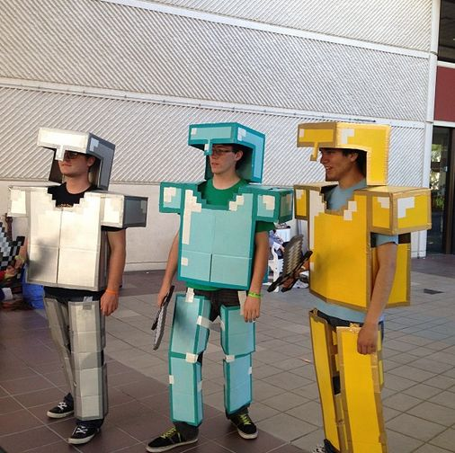 Minecraft armor by kluckyducky