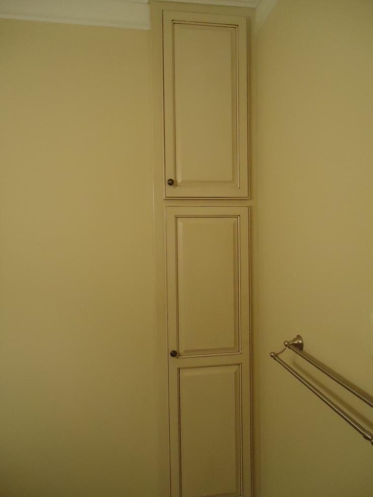 Built In Linen Cabinet In Bathroom Bedrooms Baths