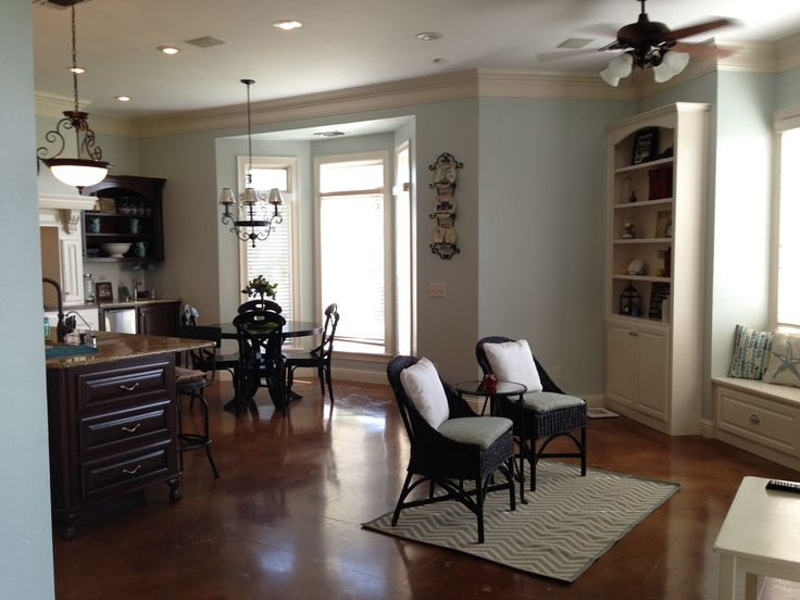 kitchen sherwin williams sea salt new house pinterest. Black Bedroom Furniture Sets. Home Design Ideas