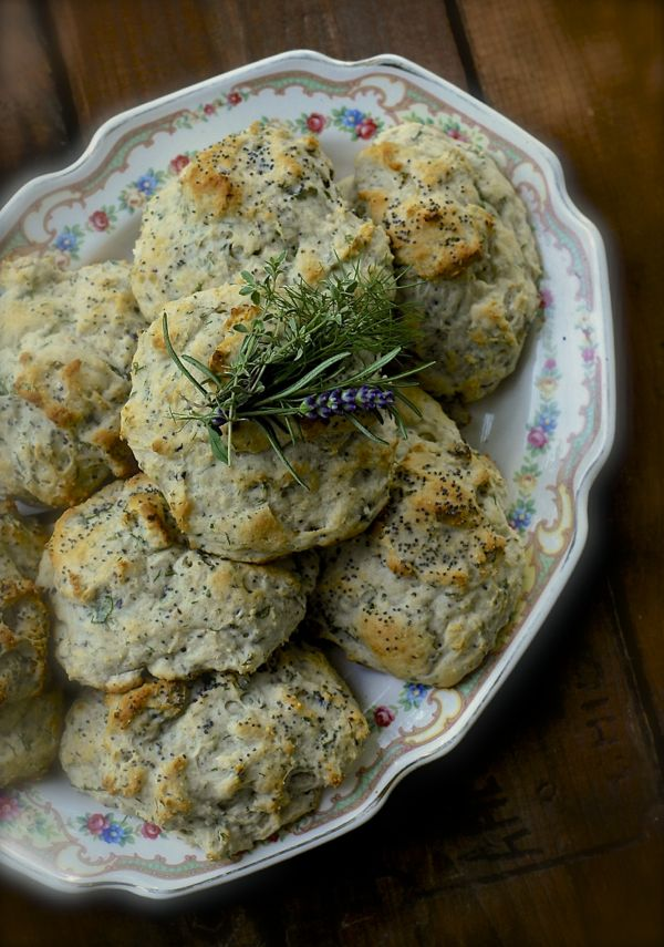 Herb Biscuits Recipe — Dishmaps