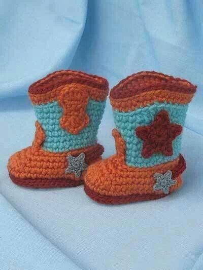 Too cute Crochet baby booties Pinterest