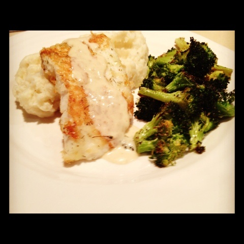Pan Roasted Halibut | Fish and Seafood | Pinterest