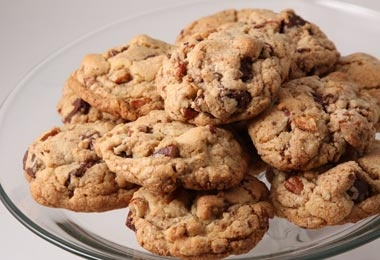 Rick Bayless Mexican Chocolate Chunk and Pecan Cookies