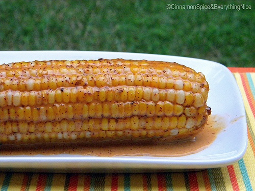 sweet potato corn and lime corn on the cob with chile and lime coconut ...