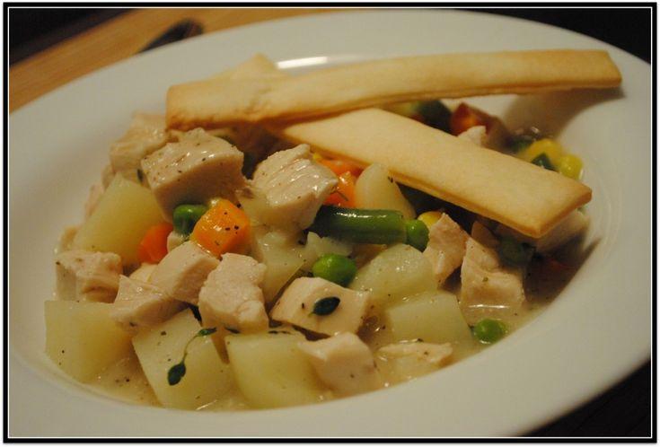 Easy Chicken pot pie | Chicken | Pinterest