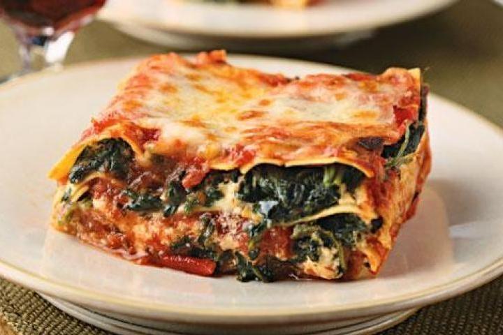 crock pot vegetarian lasagna | Recipes to try | Pinterest
