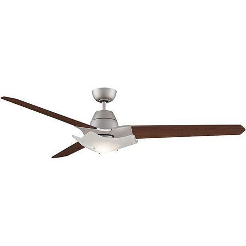 Wylde Satin Nickel 72 Inch Blade Span Ceiling Fan W