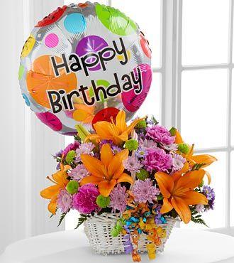 1800flowers.com birthday flower cake