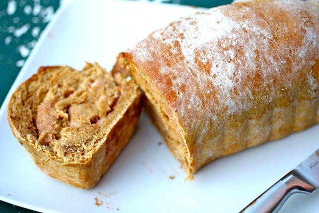 cinnamon cream cheese swirl pumpkin bread (part two of pumpkin bread ...