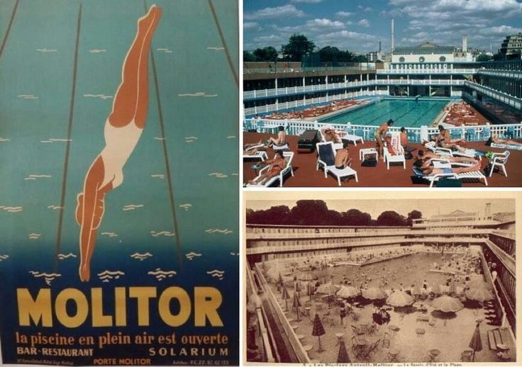 Piscine molitor paris art nouveau art deco pinterest for Piscine molitor