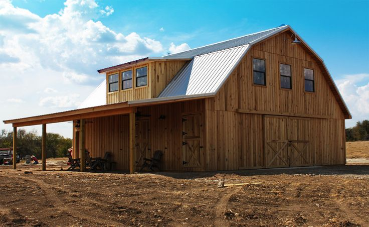 Whats the cost of a pole barn with living quarters joy for Gambrel barn plans with living quarters