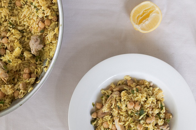 Chicken and Chickpea Pilaf | FOOD--the kind of food i'd make for main ...