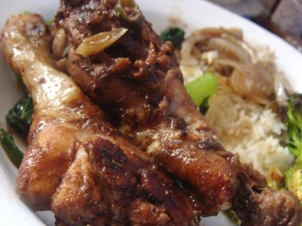Jamaican Jerk Chicken from Food.com: This is an amazing recipe. Don't ...