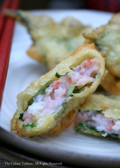 Shiso Spicy Tuna Tempura Recipe — Dishmaps