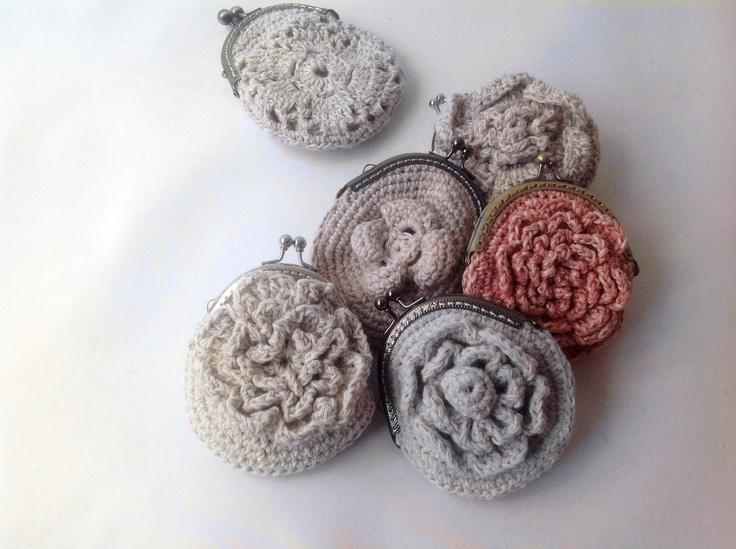Crochet Coin Bag : Crochet Coin Purse Crochet bags Pinterest