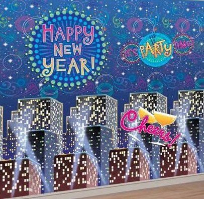 Ideas for new years theme parties new years eve party - New years decoration ideas ...