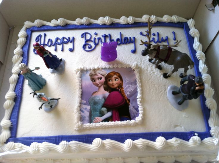Disney Frozen Birthday Cake Safeway Image Inspiration of Cake and