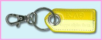 Kappa Alpha Theta Sorority Keychain $6.95