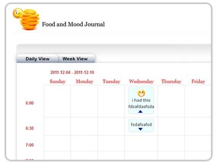Food and Mood Journal Food and Mood Journal: Use the Food and Mood ...
