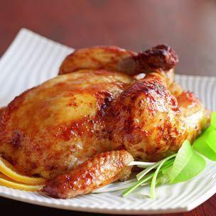 ... Roast Chicken at http://99foods.com/recipes/Miso-Glazed-Roast-Chicken