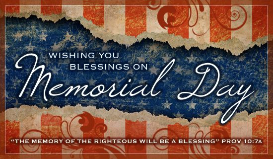 memorial day cards online