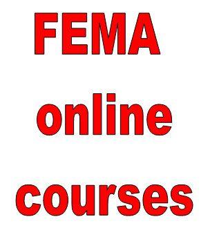 Fema online courses ics 800