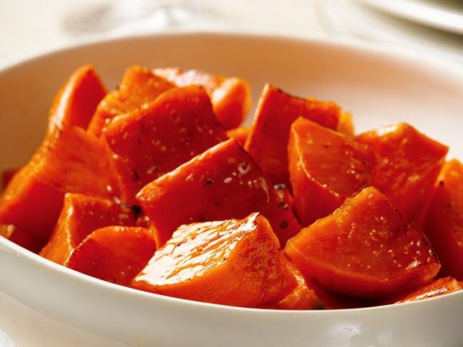 Maple Roasted Sweet Pototoes | Fruit & Veggie Recipes | Pinterest
