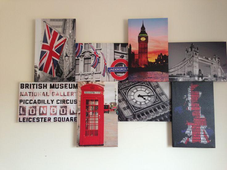 Aleighna Bedroom Inspiration London Theme Redoing My