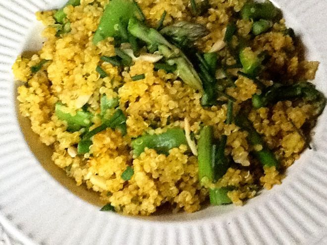 Saffron Quinoa with Seasonal Vegetables | Recipe