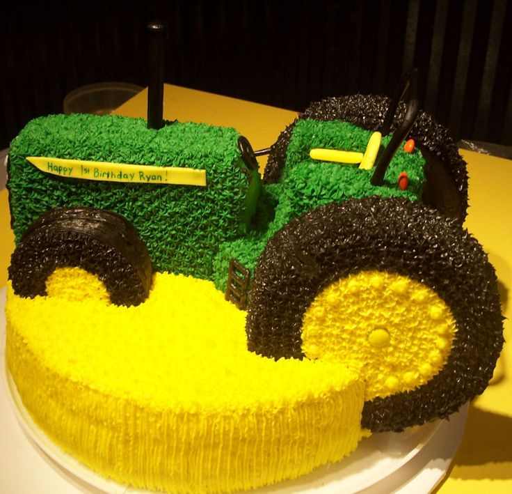 Images Of Tractor Birthday Cake : Tractor Cake Cakes&Cupcakes Pinterest