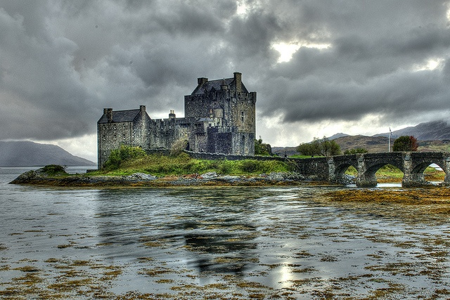 Scottish Castle by JD Colourful Lyte, via Flickr