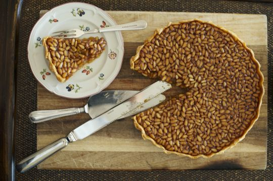 More like this: pine nuts , tarts and pine .
