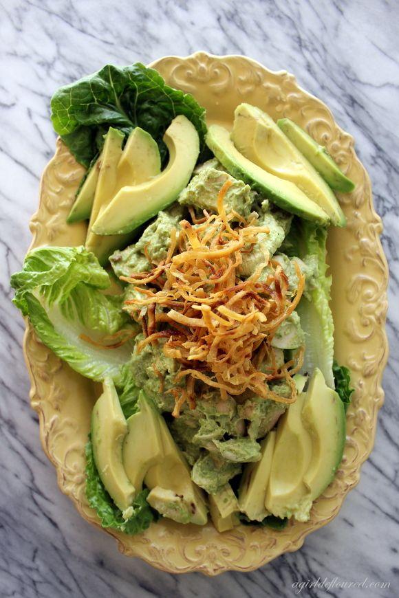 Cilantro Pepita Chicken Salad @Alison | a girl defloured | G-Free ...