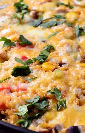 Southwestern Quinoa Casserole | Recipe