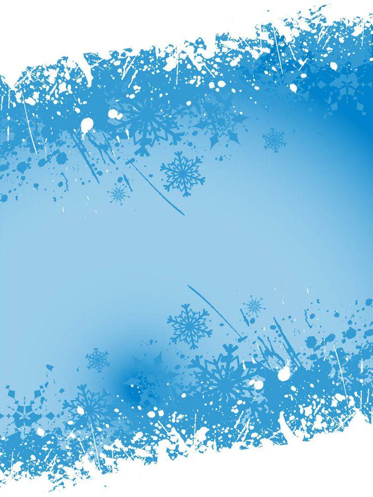 736 x 981 jpeg 107kB, Winter Clip Art | Winter Page Border | rehersal ...