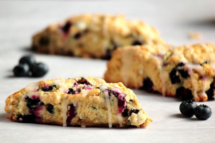 Lemon Blueberry Scones | Biscotti And Scones | Pinterest