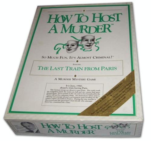 how to host a murder game buy